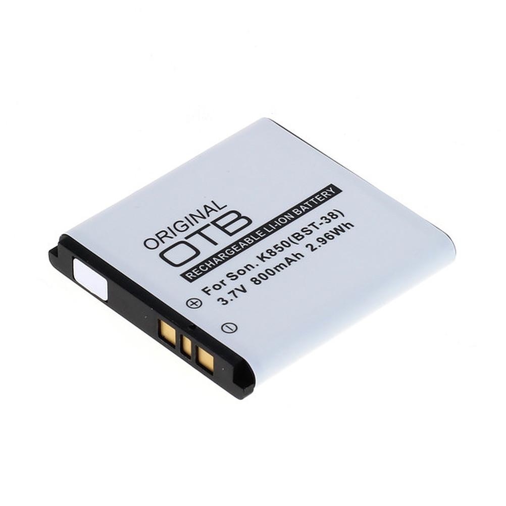 Akku für Sony Ericsson U20 / U20i 800mAh Li-Ionen (BST-38)