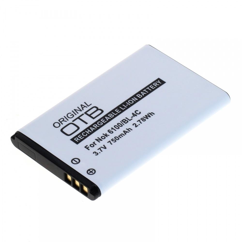 Akku für Nokia 105 (2017) 750mAh Li-Ionen (BL-5CB)