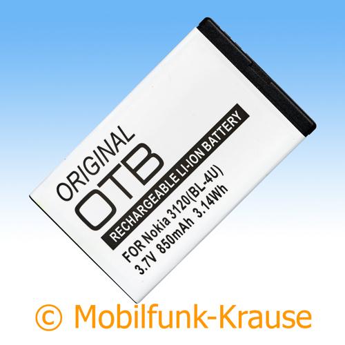 Akku für Nokia 301 850mAh Li-Ionen (BL-4U)