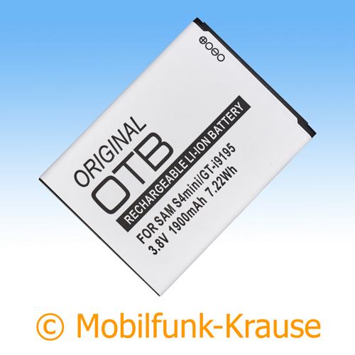 Akku für Samsung Galaxy S 4 Mini 1900mAh Li-Ionen (B500BE)