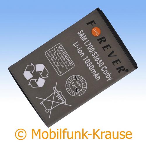 Akku für Samsung GT-S5260 / S5260 1050mAh Li-Ionen (AB463651BU)