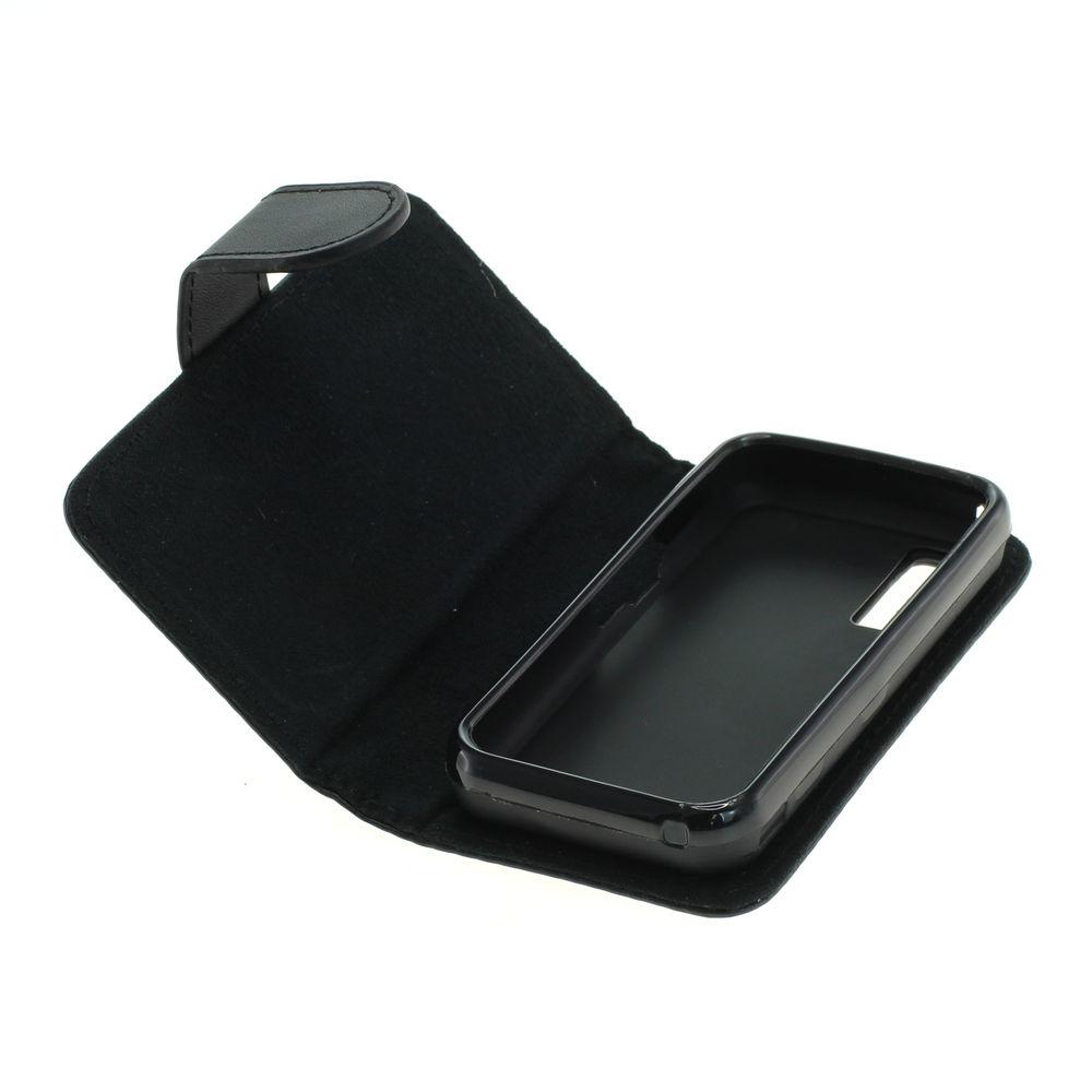 Book Case für Samsung GT-S5230 / S5230 (Schwarz)