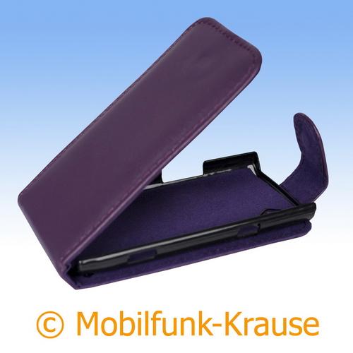 Flip Case für Samsung GT-S8500 / S8500 (Violett)