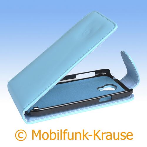 Flip Case für Samsung Galaxy S 4 Mini (Türkis)