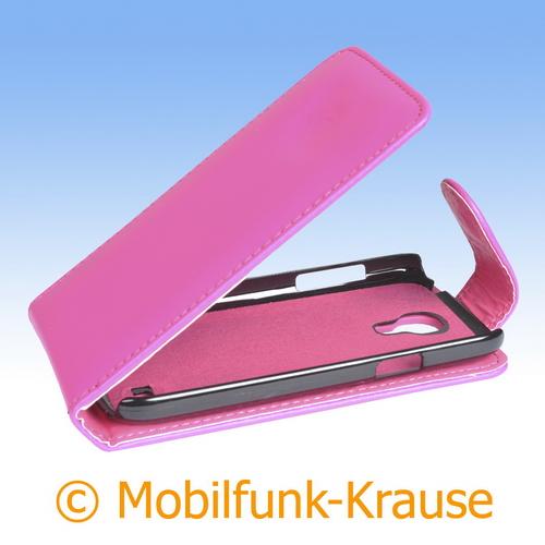 Flip Case für Samsung Galaxy S 4 Mini (Pink)