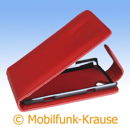 Flip Case für Samsung GT-S8500 / S8500 (Rot)