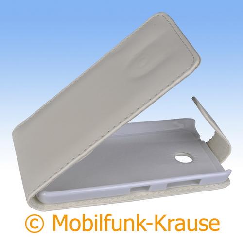 Flip Case für Nokia Lumia 630 (Weiß)