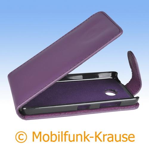 Flip Case für Nokia Lumia 630 (Violett)