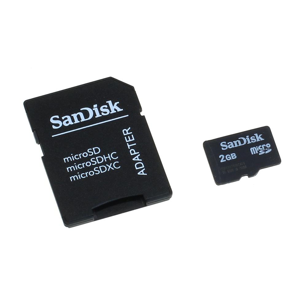 Speicherkarte SanDisk microSD 2GB für Samsung GT-S8500 / S8500